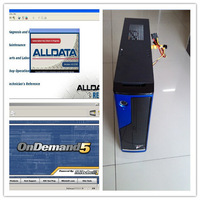 2014 New Arrival Installed Well Alldata 10.53 all data and Mitchell 2014 Auto repair software In MINI Desktop Computer With 2TB