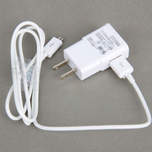 US Plug Wall Home Charger Adapter + USB Data Cable for SamSung Galaxy Note2 II N7100 S4 S3 ZMHM016#S2