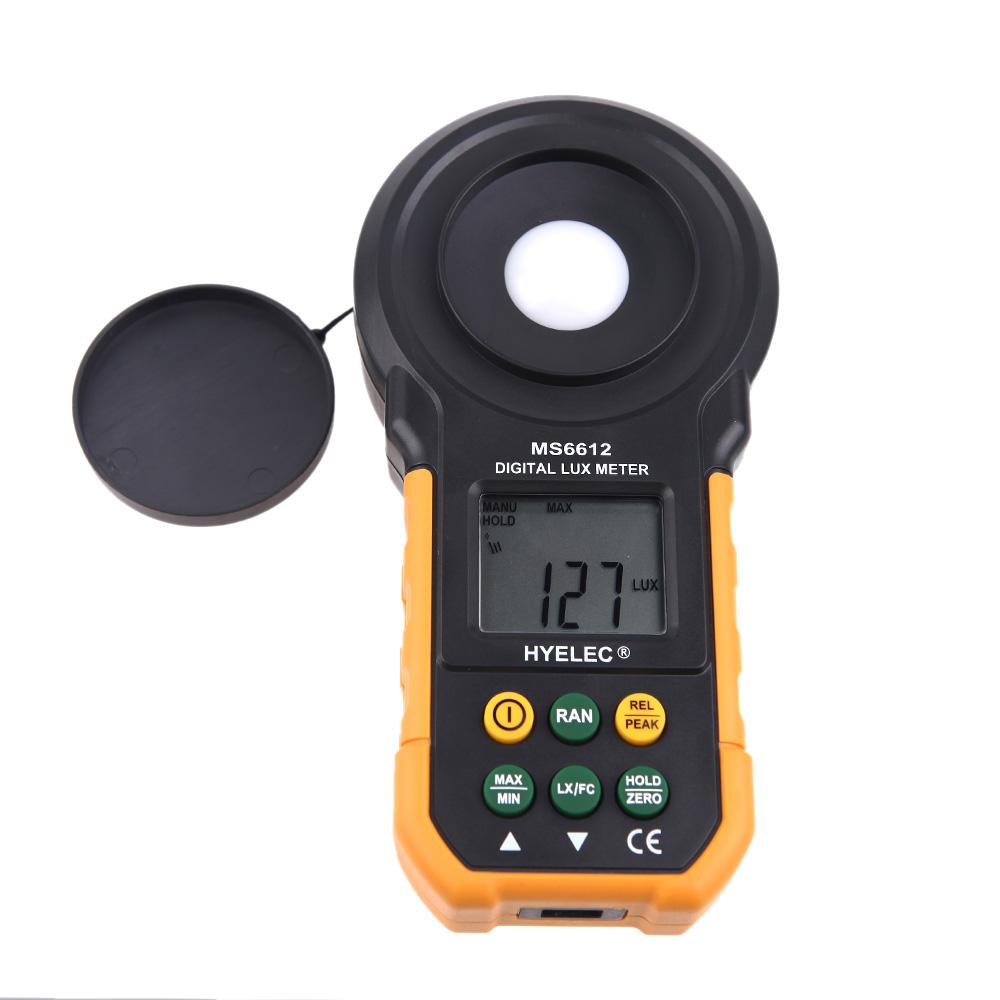 HYELEC Digital Lux Meter Handheld Multifunction Meter for Light Illuminance Measuring Flow Flowmeter Nissan Primera MS6612(China (Mainland))
