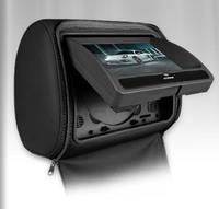 "2x7"" Dual Car DVD Player Headrest Monitor+Game+DVD+USB/SD+IR/FM,Car Pillow Monitor,Seat back monitor, Headrest Screen Display"