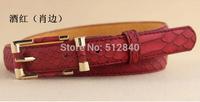 2014 New Arrival Spring Fashion Genuine Leather Strap Female Belt Women's Belt 6 Colours
