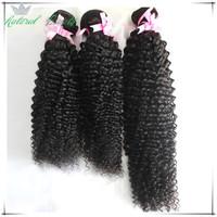Grade 6A Brazilian Virgin Hair Kinky Curly 3pcs Lot 100% Unprocessed Human Hair Extension Hair Weaves TOP Quality