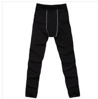 Plus velvet winter sports training pants tight pants fitness pants perspiration wicking