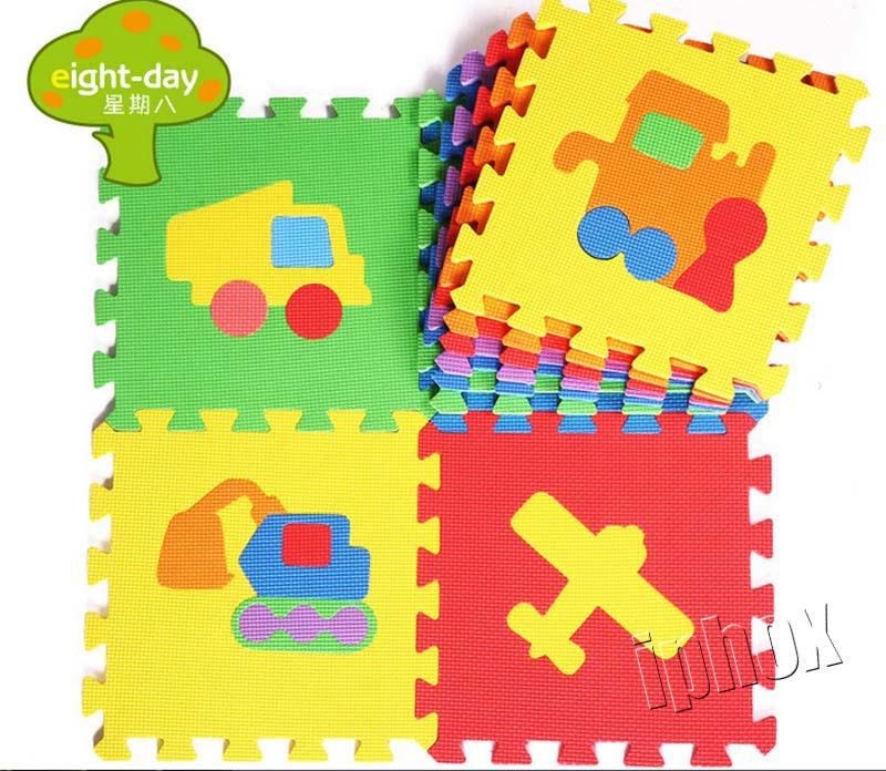 Kinder weichen entwicklung kriechen teppiche baby spielen puzzle zahl
