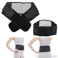 1pcs Adjustable Pad Tourmaline Magnetic  Belt self-heating Lumbar  Support Brace Double Banded Drop Shopping Wholesale
