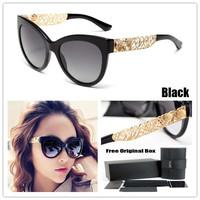 Hipster Baroque Gold Metal Carved sunglasses women brand designer eyeglasses Temple Flower Sunglass luxury fashion sun glassses