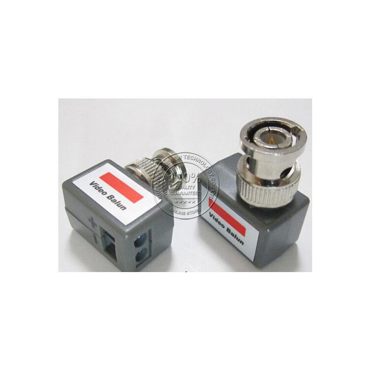 CPB-202 Passive Video Balun, 1 Channel Fine Copper CCTV Security Camera Transceiver(China (Mainland))