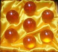 Dragon Ball Z 1set 4CM New In Box DragonBall 7 Stars Crystal Ball Set of 7 pcs Dragon Ball Z Balls Complete set