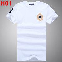 2014 Men casual o-neck short-sleeve print tom slim t-shirt h01