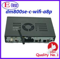 full hd dm800se wifi A8P HD Cable TV Receiver DVB-C SIM a8p DM800hd se Linux os Cable Receiver dm800se c Enigma2 free shipping