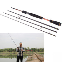 2014 New Carbon Fiber 2.4M 7.87FT Portable Sea River Fly Fishing Pole Spinning Lure Rod Fishing Tackle Tool for Outdoor Sports