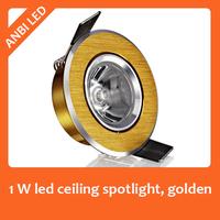 Hot sale 1 W bright  led spotlight  spot ceiling light 1w cat-eye lamp led ceiling,Dia 68mm, cut-out 50-63mm