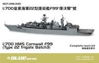 Orangehobby-N07-099-240-1/700 HMS Cornwall F99  (Type 22 frigate Batch 3)