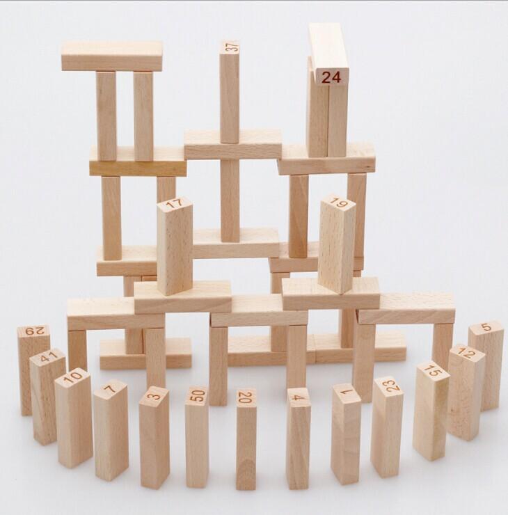 Kids Building Blocks Tower