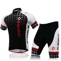 2015 INBIKE Man Cycling Jersey Bike Short Sleeve Sportswear Cycling Clothing + Shorts CC1101-1