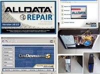 Alldata Mitchell Ondemand Auto Repair Software Have Been Installed Well ,Ready To Work With 2TB HDD And MINI Desktop Computer