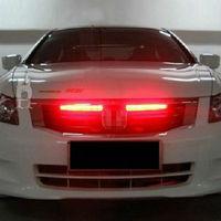 Red 56cm 48-LED Car Flash Strobe Knight Rider Light Strip Kit Waterproof 12V New
