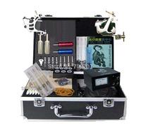 Professional tattoo supply Starter Tatoo Kits machine complete SET Free Shipping