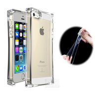 2014 New Style Summer ICE CUBE Case ICE BLOCK Case Transparent Crystal clear soft phone case Cover For IPhone 5 5S