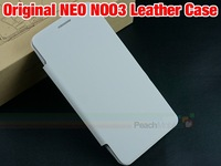 Original NEO N003 Leather Case cover  Good Quality  Side Open  PU Flip case cover for NEO N003  cell phone free shipping