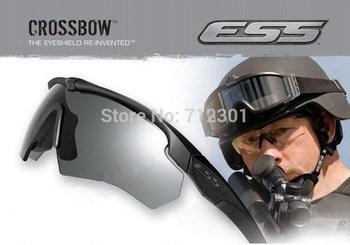 Ess арбалет военная очки баллистических, 3 объектив пуленепробиваемые армия солнцезащитные ...