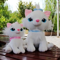 New arrival children doll marie cat plush toy soft cloth doll for baby girl birthday gift children day novelty wedding 2pcs/lot