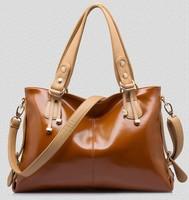 New Hot 2014 women handbag genuine leather bags women designer fashion bag brand