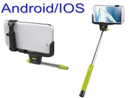 Free Shipping 50pcs/lot Wireless Mobile Phone Monopod Wireless phone Holder for IOS & Android