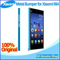 2014 New Arrival ultrathin Luxury Metal Aluminum Bumper border frame protector phone cover case for Xiaomi Mi4 mi4s case