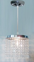 Abajur Modern Pendant Lamp Crystal Light Lampshade Lustres De Sala Pendant Light Luminarias Para Sala Luminaria  Copper Light