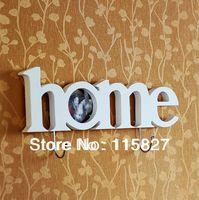 Free Shipping!Korean style Wooden photo frame  wooden clothes hanger photo frame photo wall house decoration wooden artcraft