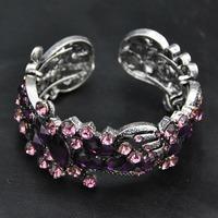 Wholesale Jewelry Cheaper New Designer Europe Perfume Women Bangle Vintage Jewelry Luxury Women Cuff  Indian Bracelet