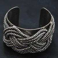 Wholesale Bangle jewelry Antique Gothic Bangle Fashion unique Items Chain Twist Women Cuff Bracelet Bangles Indian Bracelet
