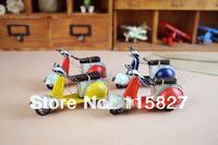 Free Shipping!Old memory Motobike model Mino motobike decoration toy Desktop house and shop decoration