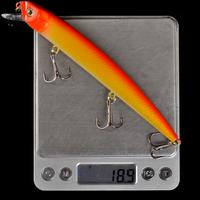 Free Shipping Minnow Lure Set, Big Size Color Fishing Minnow Baits 16cm/18.9g