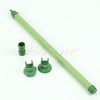 A31 Free Shipping 7'' Fish Tank Green Bubble Wall Air Stone Tube Aquarium accessory