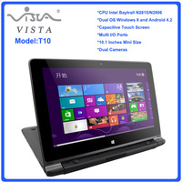 Good Price 10.1inch Mini laptop Computer Touch Screen Note Book Computer Intel N2806 4G 64G SSD Mini laptop