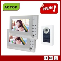 video doorphone with recording function for 2 apartment, night visionVDP-313+CAM-210