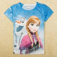 Girl's short sleeve T-shirt K5193Y#