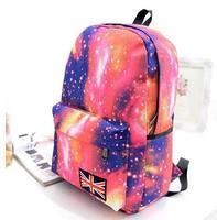 HOT! Fashion Galaxy Printing women Backpack Students School Bag Travel Bag shoulder bags