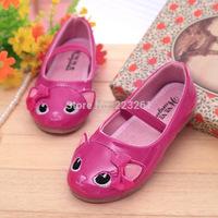 2014 Fashion Cartoon Girls Casual Shoes Cute Children's Shoes Soft bottom Princess Shoes Spring Autumn 26-30