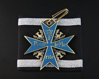 (lucyM0002)New Product FreeShipping Wholesale 5Pcs/Lot Prussia and German Empire Pour le Merite(Blue Max) Replica Medal