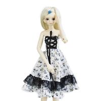 147# Flower Clothes/Dress/Outfit 1/4 MSD DZ BJD Dollfie