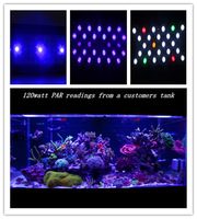 Free shipping PLC55 programmable Full Spectrum 165w high power led aquarium light simulate sunsrise sunset  3 channel