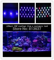 Free shipping evergrow IT2040 programmable Full Spectrum 120w high power led aquarium light simulate sunsrise sunset  3 channel