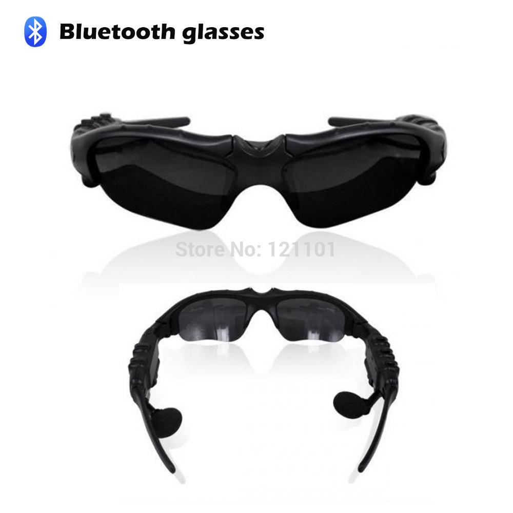 Sport Sunglasses HIFI Bluetooth Wireless MP3 Foldable Earphone Headset Headphone Eyeglasses for Galaxy S3 S4 Note 2(China (Mainland))