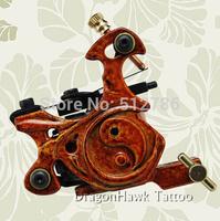 2014 Artist Recommended Manual Tattoo Gun & Gorgeous Pure Copper Tattoo Machine