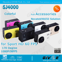 2014 Hot Sell SJ4000 Waterproof Car Sport DVR Camera With 170 Degree Angle Full HD Diving Action Camera + Many Color
