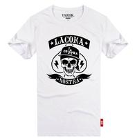 YAOCOK Shake LACOKA cotton lovers rock t-shirt men's and women's T-shirt