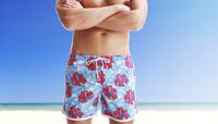 free shipping fashion pattern men trunks,men beach pants NEW ARRIVAL men home shorts,men swim